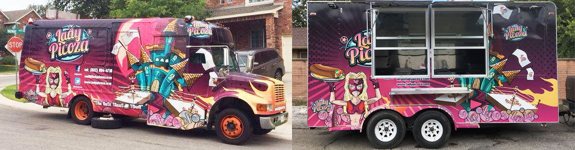 Lady Picoza Food Truck San Antonio